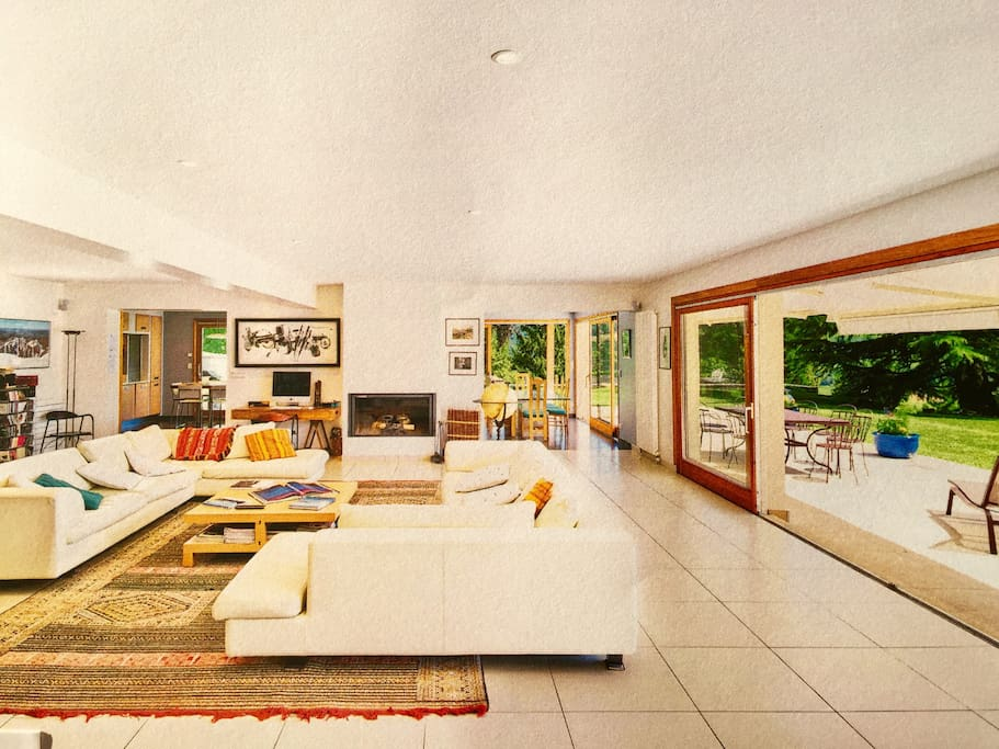 séjour 95 m2 avec vue panoramique et grandes terrasses