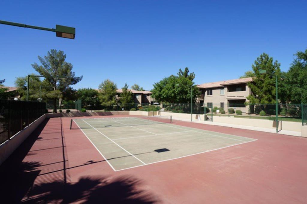 Tennis Courts- 2 Rackets are provided