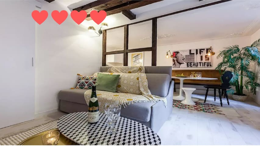 Top Apartment Cathédrale  -  Style & Confort  ❤❤❤❤