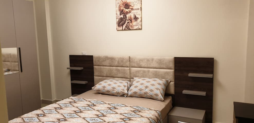 Main bed room, bed 160 cm
