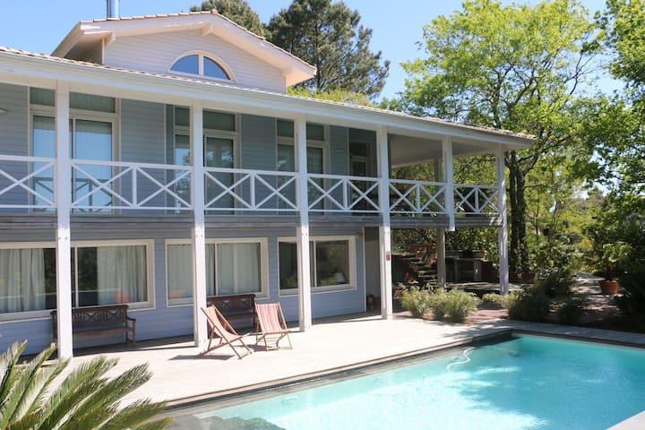 Pyla Belle villa 5 chambres et piscine au DOMAINE