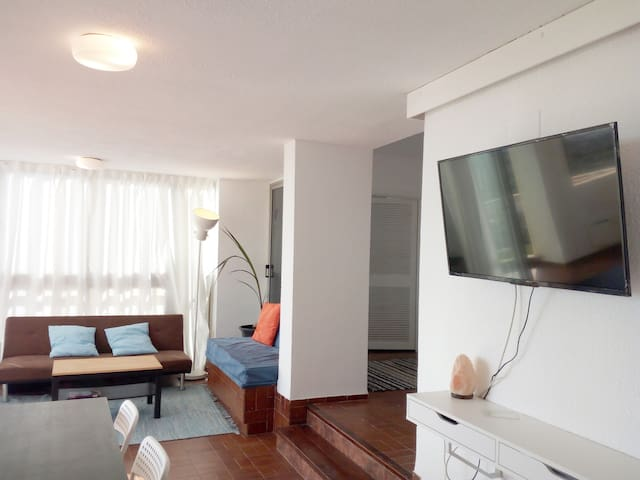 First line of beach with terrace and swimming pool - Valência - Apartamento