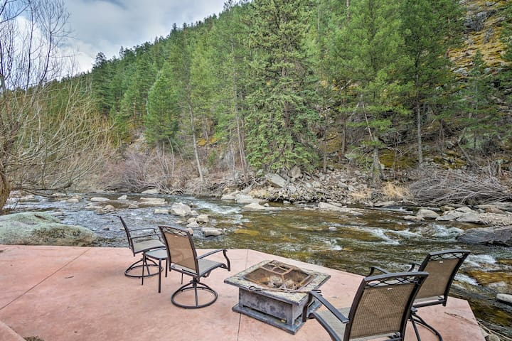 NEW! Home w/Patio+Deck on Big Thompson Riverfront