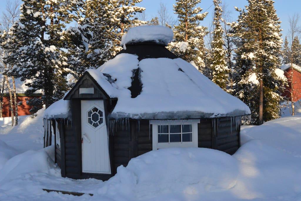 cosy in the winter campalta.se