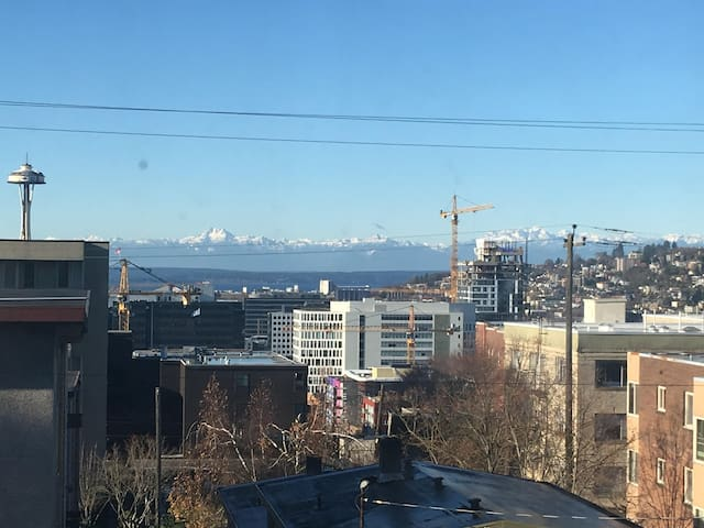 Charming 1 br with mountain view in Capitol Hill