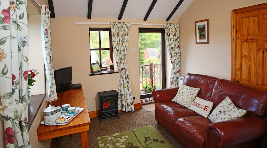 Hayloft Cottage, perfect for visitors on a budget.