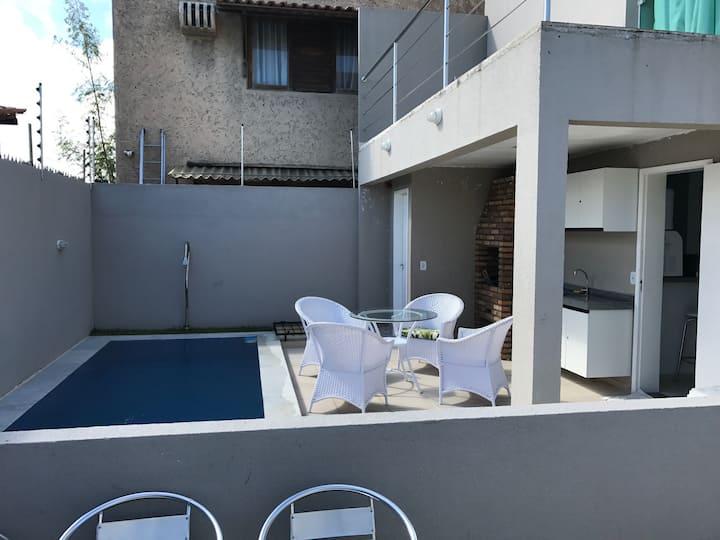 Casa de praia com piscina privativa