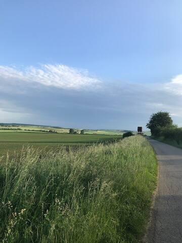 La campagne environnante