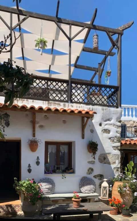 Traditional style apartment in Creten village