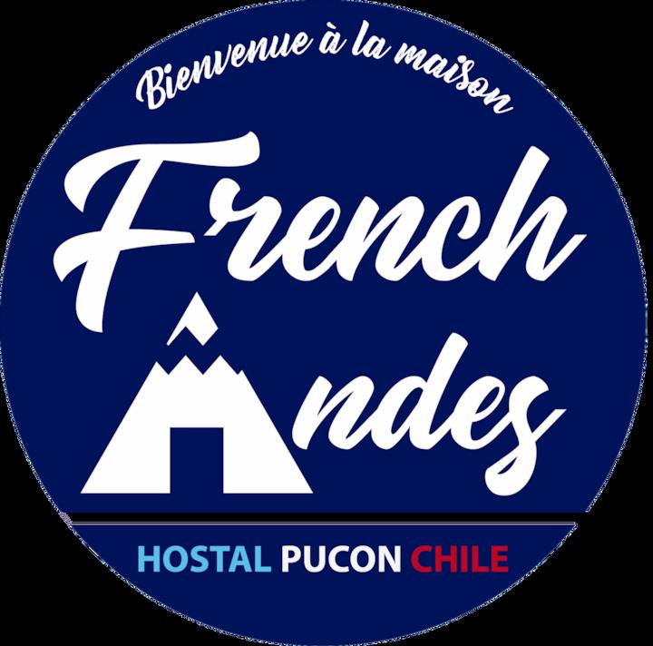 French Andes 1 Studio, terraza y vista al Volcan