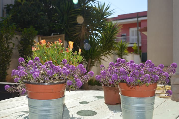 Camera con giardino vicina al mare -  B&B Biblos