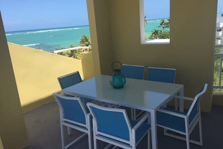 Ocean View Beach Access Penthouse - Loíza
