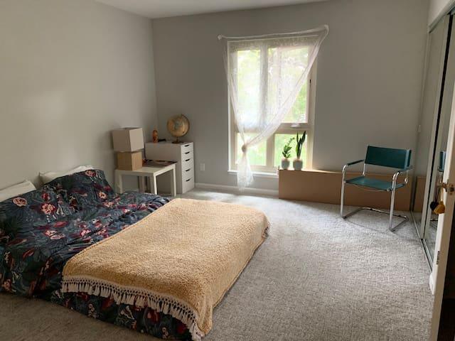 Mid century condo apartment in central Oakland
