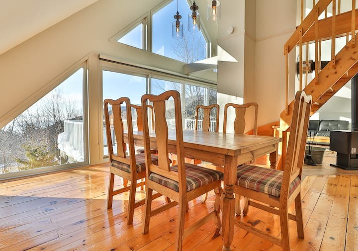 Sommets Charlevoix Condo-Chalet 59 - Haut
