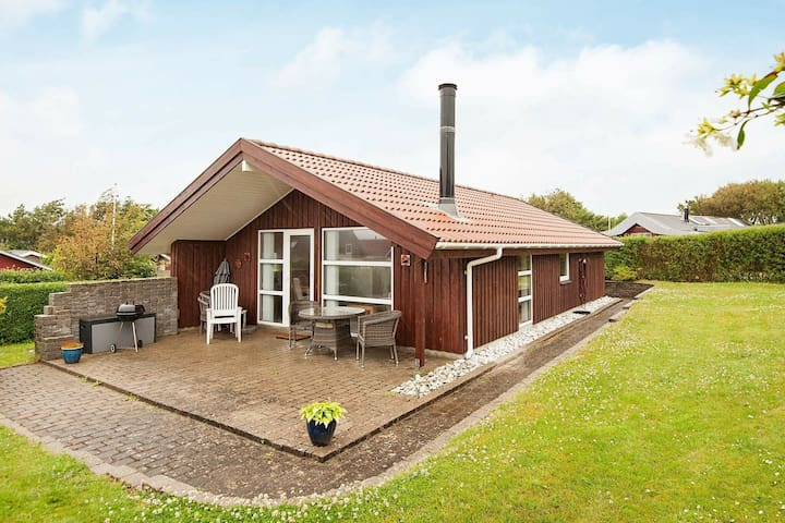 Wooden Holiday Home in Jutland with Terrace