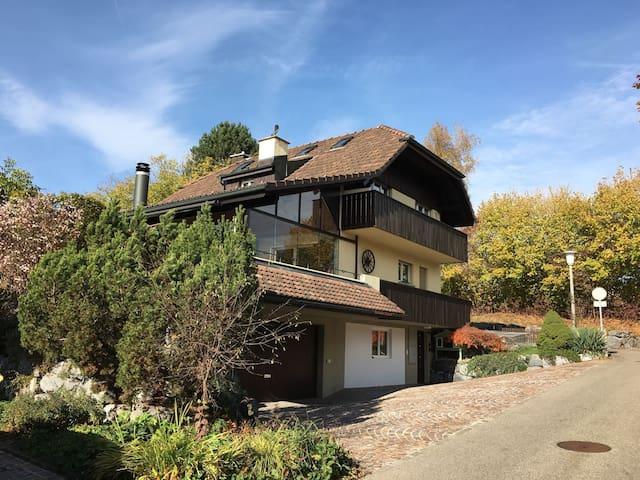 Landhaus nähe Zürich mit Studio