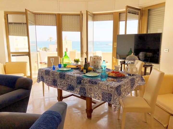 Otranto★ apartment on sandy beach★puglia