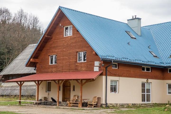 AgroTurystyka Dom do Wynajęcia GrenVelo Bieszczady