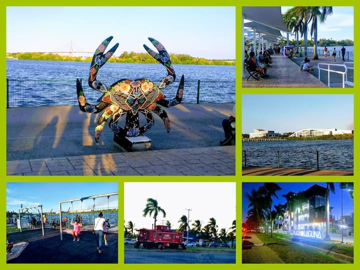 Cómodo depa ideal en viajes al centro de Tampico