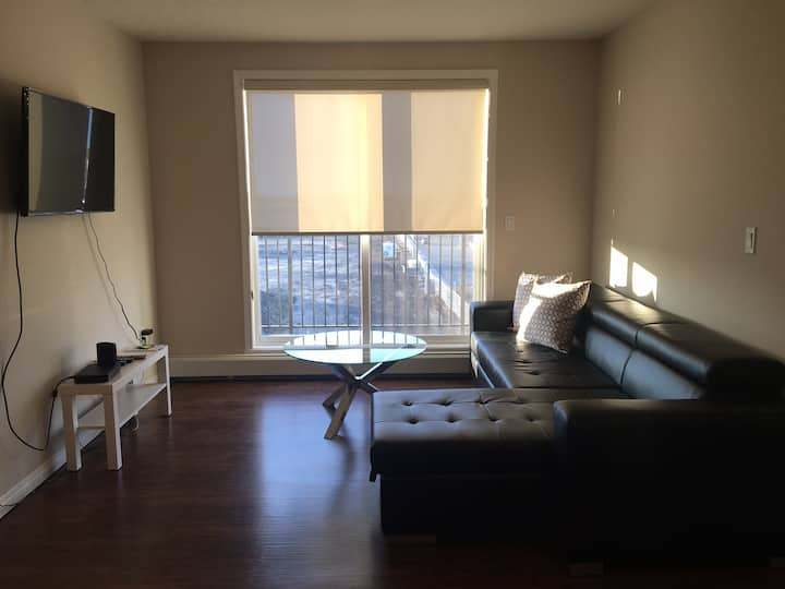 Spacious Two Bedroom Suite near YEG Airport