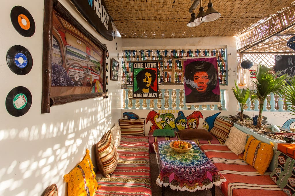 Roof House Taghazout Hostel Bed And Breakfasts For Rent