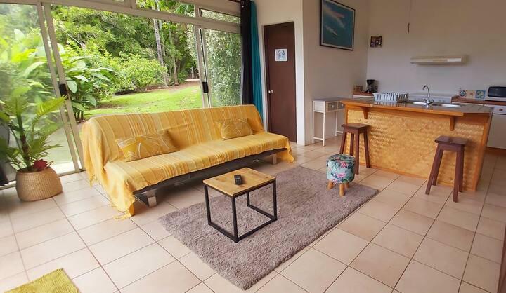 Appartement en pleine nature au coeur de Papeete