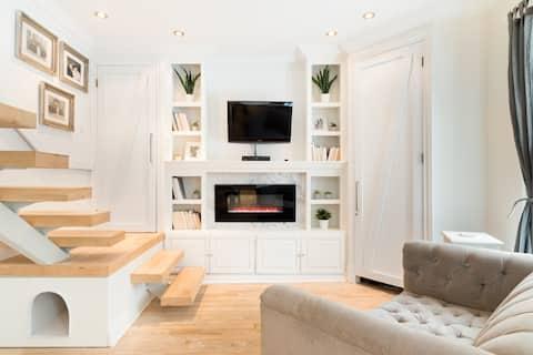 Offrez-vous une pause dans un loft moderne entouré de nature en Montérégie