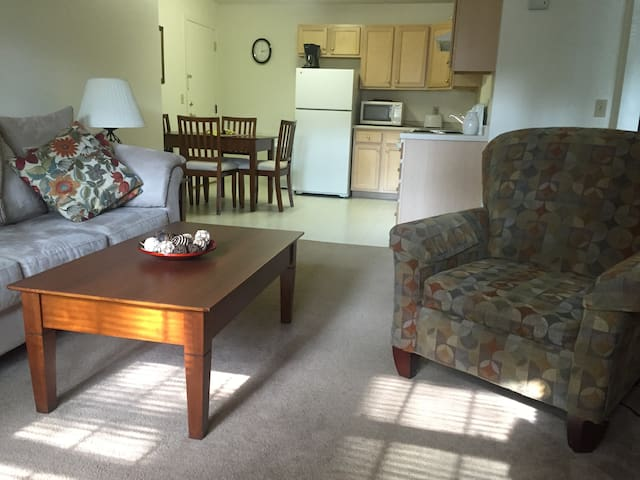 Apartment on Lovely 14 Acres and Mill Pond