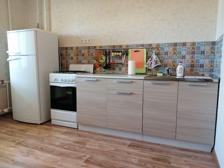Чистая, уютная и светлая квартира в городе Пскове