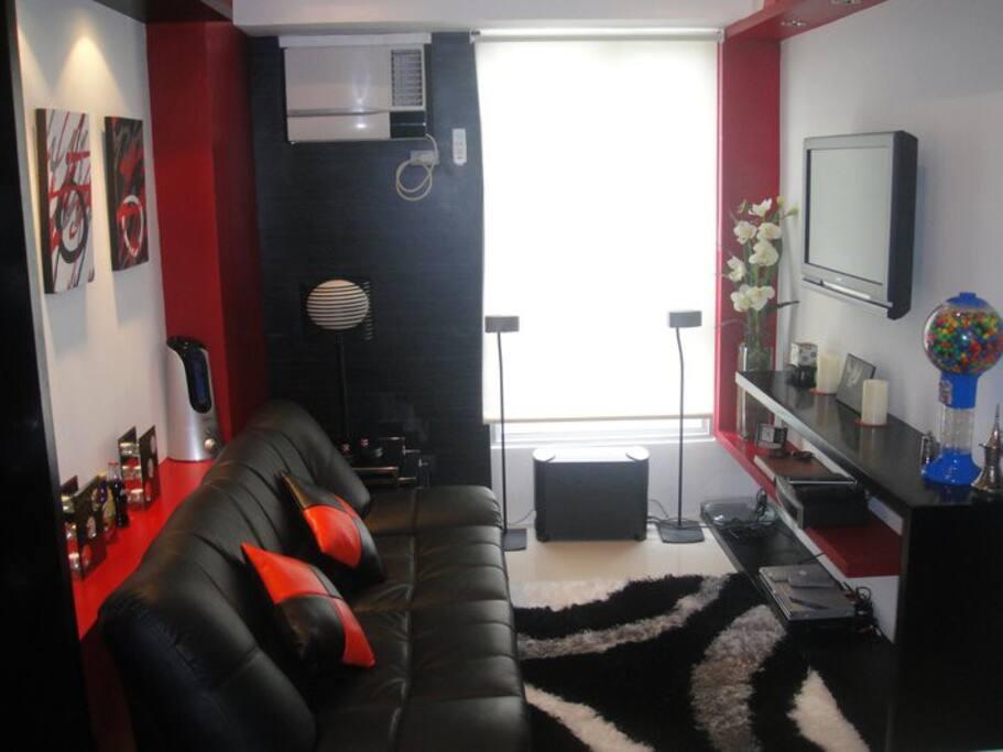 21 sqm fully  furnished unit
