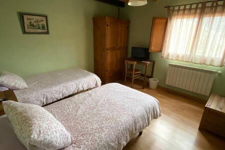 oferta pernocte habitación 2 camas