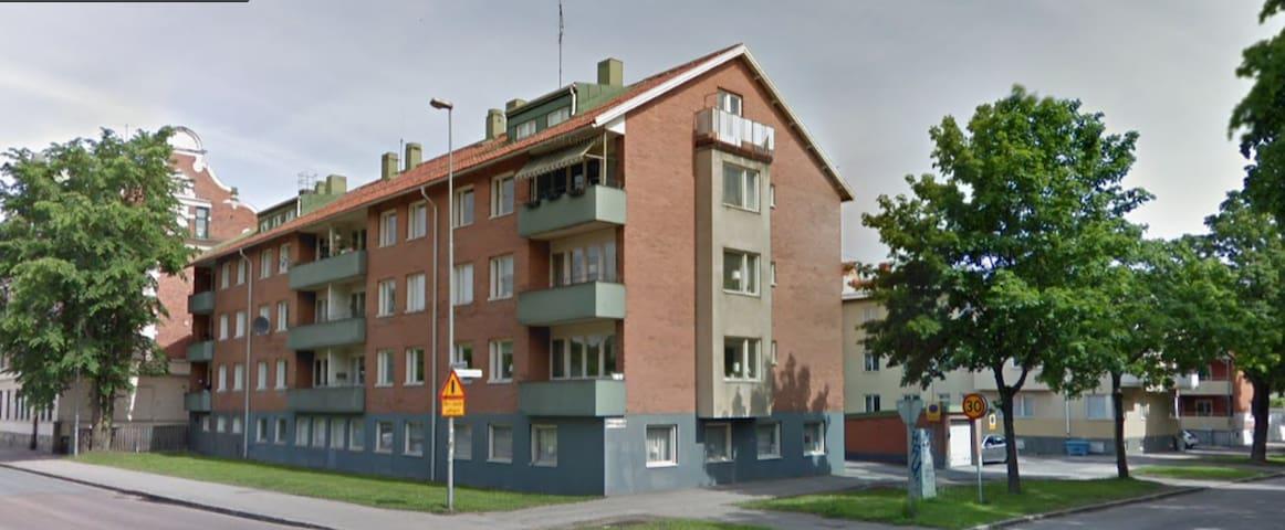 Mysig liten lägenhet i centrala Gävle