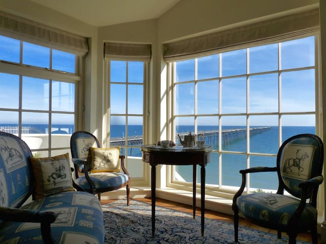Historic beach house/Fantastic view. Ideal TT spot