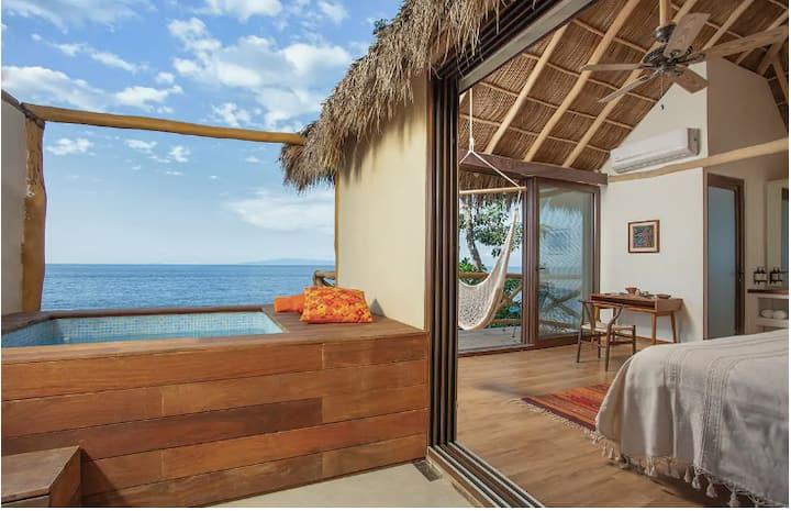 Suite de lujo en playa de Puerto Vallarta