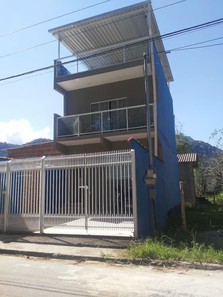 Casa Duplex sertao taquari Paraty-120mt rio santos