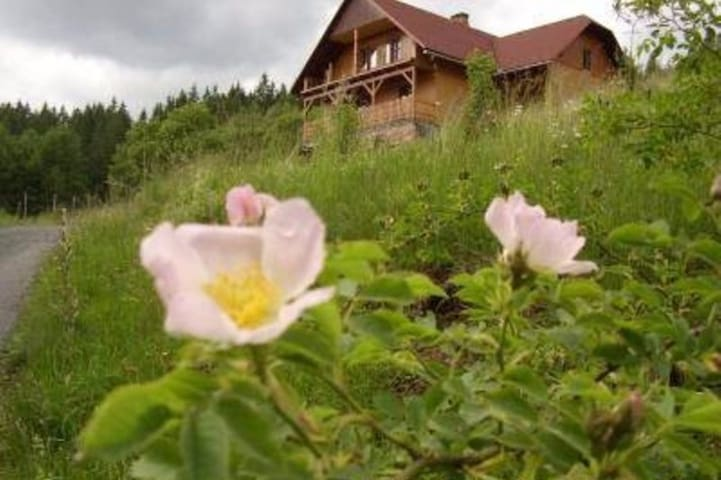 Ubytování pod Březím- rekreace blízko lesa - Prostřední Bečva - Outros