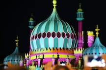 Brighton Pavilion light show