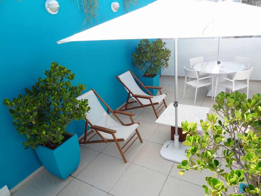 Shower  for sunny days  on your terrace