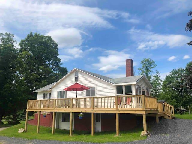 Charming Farmhouse at Over & Under Farm.