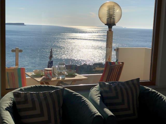 Baleal island ocean front apartment