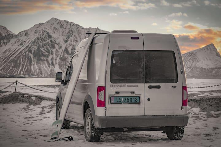 Fantastic little camper van