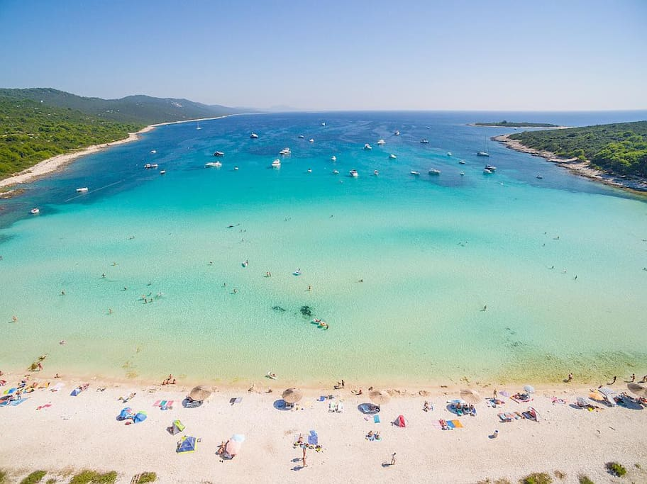Sakarun beach Dugi otok