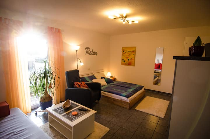 Room for 3 people with private bathroom, parking