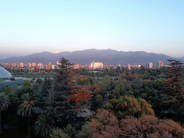 Enjoy a beautiful view of Santiago. - Santiago - Wohnung