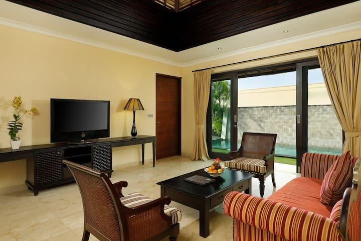 Wonderful Bali 1 Bedroom Hillstone Pool Villa