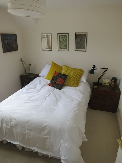 The bedroom - double bed