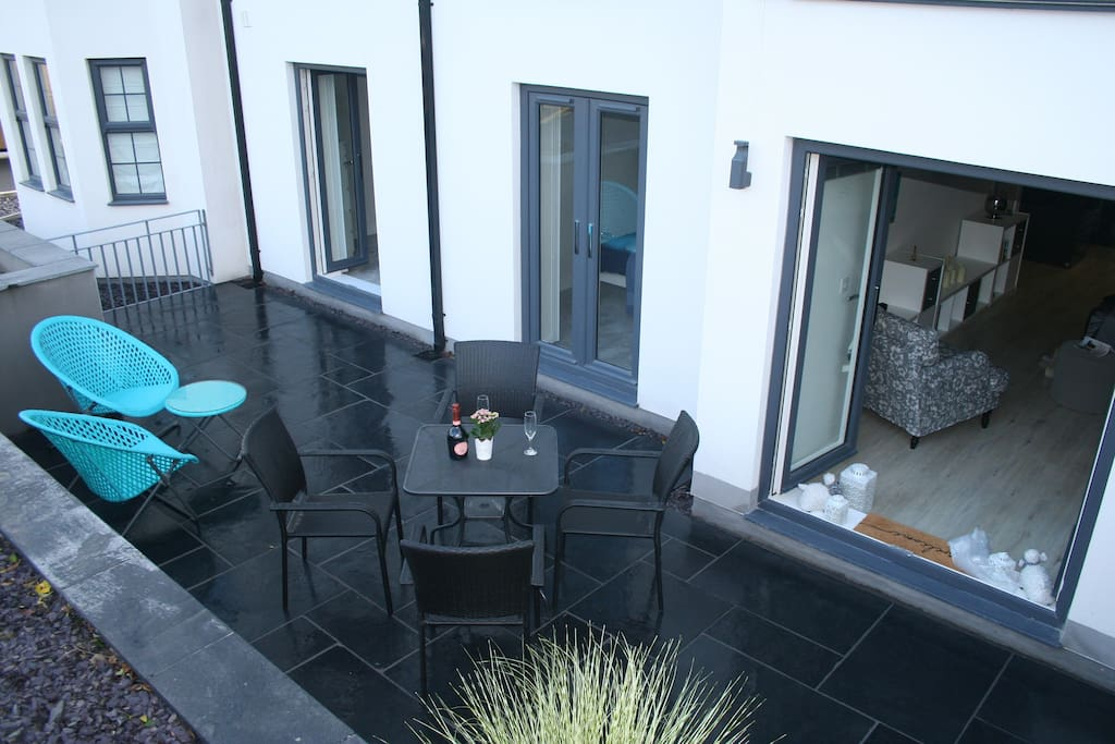 Private Patio and Terrace