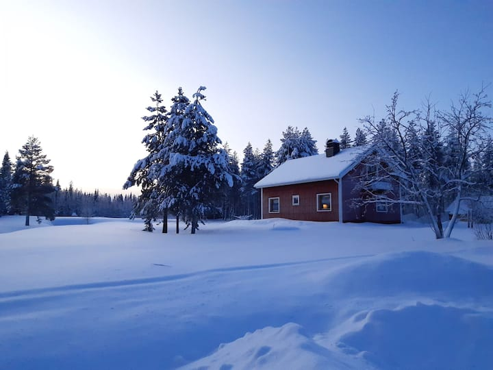 Villa in lapland on large property