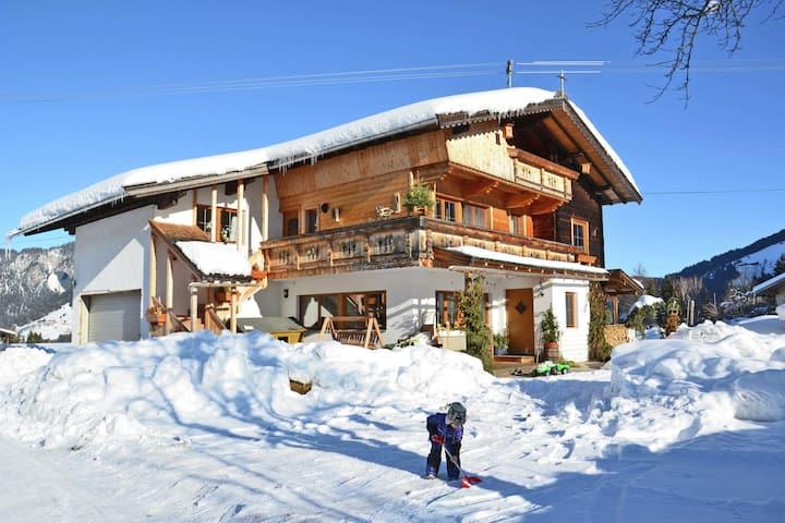 Inviting Apartment in Auffach Wildschönau near Ski Area