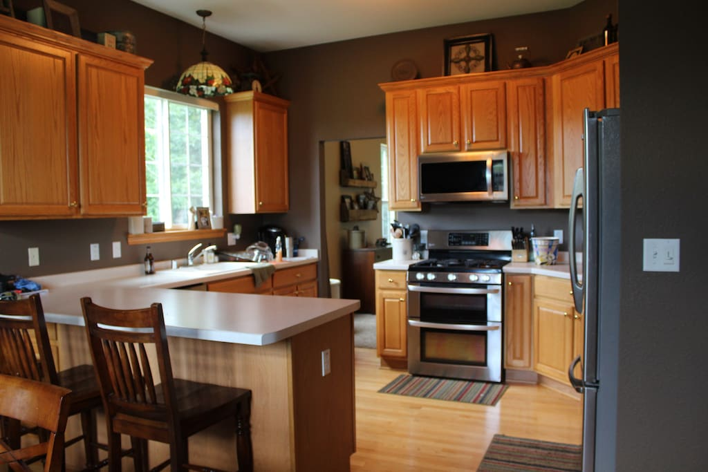 Updated kitchen with all the needed amenities
